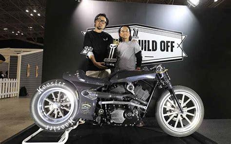 Kaos Harley Davidson Tokyo Japan ハーレーダビッドソンジャパン 東京モーターサイクルショーでカスタムバイクを展示 motor cars