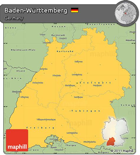 Wurttemberg Germany Birth Records Free Savanna Style Simple Map Of Baden W 252 Rttemberg