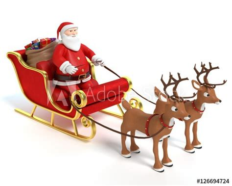 where to buy a sled and reindeer for the roof of your house 3d illustration of a santa sleigh and reindeer buy this stock photo and explore similar images