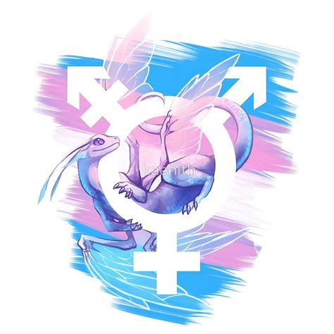 Duvet Cover Size Chart Quot Trans Pride Dragon Quot By Kaenith Redbubble