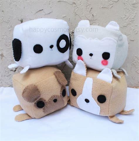 diy plushies animal plush kawaii plushie stuffed animal children softie husky puppy pug