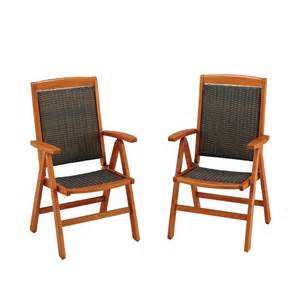 Pair Dining Chairs Bali Hai Outdoor Dining Chair Pair The Home Depot Canada