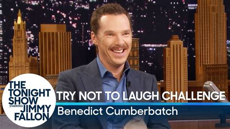 benedict cumberbatch try not to laugh try not to laugh challenge with benedict cumberbatch youtube
