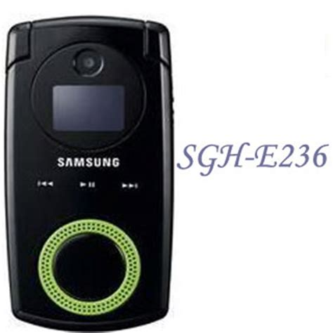 samsung sgh e236 music phone for low end market techgadgets