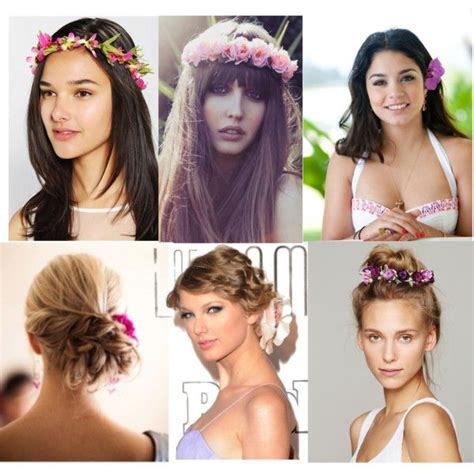 hairstyles for luau party 35 best hawaiian accessories images on pinterest wedding