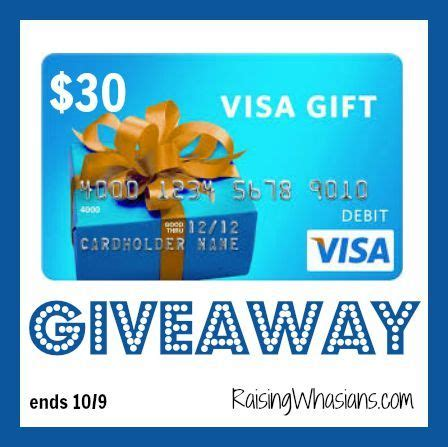 30 Gift Card Visa - enter to win a 30 visa gift card giveaway ends 10 9 merlot mommy