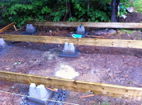 Log Cabin Foundation Options by Foundation Options For A Small Cabin Studio Design
