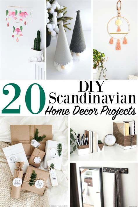 how to diy home decor 20 diy scandinavian home decor projects modern minimalist