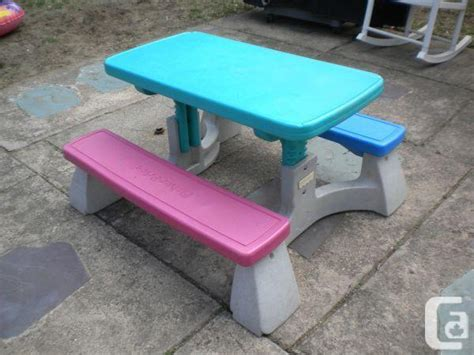 fisher price picnic table fisher price adjustable picnic table victoria park
