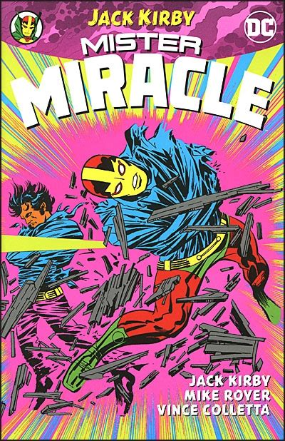 mister miracle by kirby new edition bud s books 2017 09 17