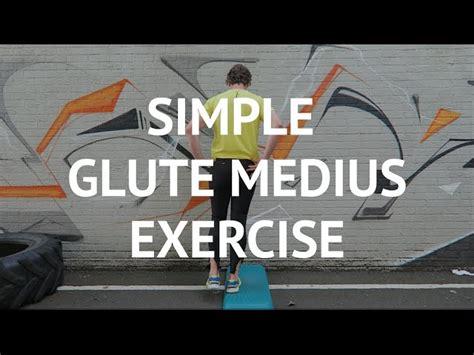 simple glute medius exercise  runners