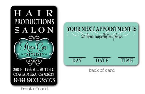 Hair salon quotes for business cards colourmoves