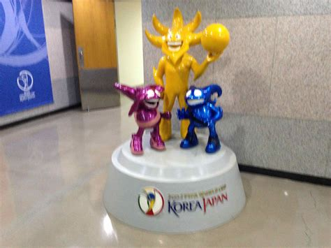 2002 FIFA World Cup Museum | Points of Interest | The ... Fifa 2002 Mascot
