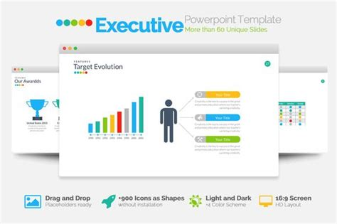 executive powerpoint template medium creative and templates