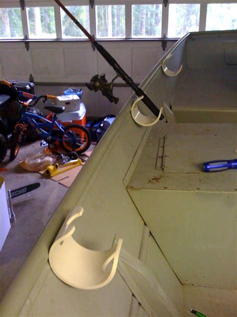 boat cabin rod holders rod holders in an aluminum jon boat page 1 iboats