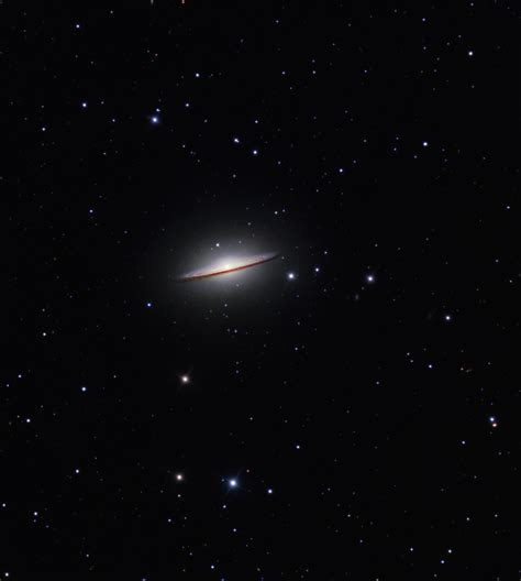 sombrero galaxy through telescope apod 2013 july 15 the sombrero galaxy from hale