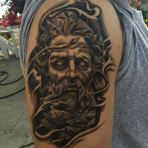 tribal zeus tattoos by luis inda tattoos zeus
