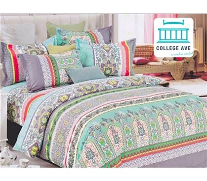 college bedding twin xl mint haze dorm bedding for girls extra long twin comforter