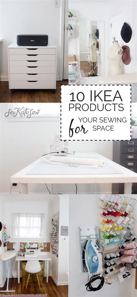 best ikea products 10 ikea products for your sewing space see kate sew