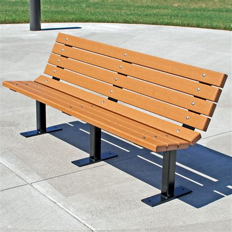 outdoor park benches jayhawk plastics contour recycled plastic commercial park bench outdoor benches at