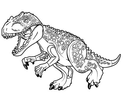 lego t rex coloring pages coloring page