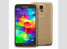 Gold Samsung Galaxy S5 Available From T-Mobile Today Galaxy S5 Sprint Model