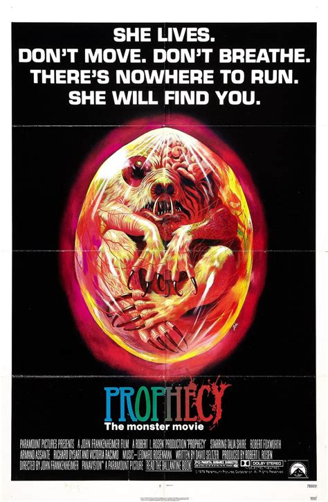 cafã dvd the prophecy 1979 review horror