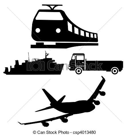 treno clipart archivio illustrazioni di treno silhouette aereo camion