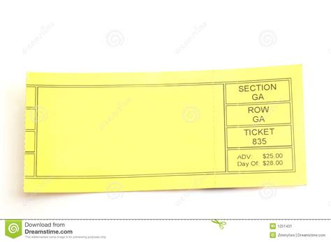 ticketmaster ticket template blank concert ticket clipart clipart suggest