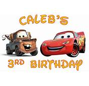 Disney Cars Boys Birthday Shirt