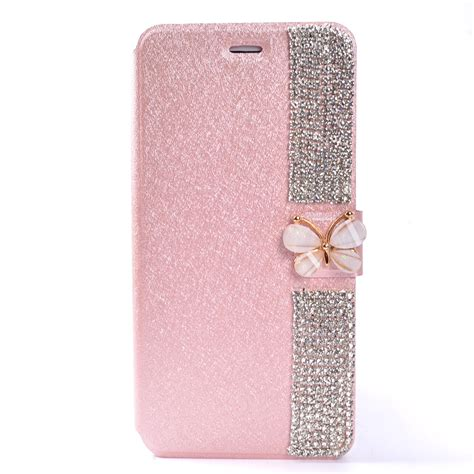 For Iphone 7 Flip Cover Wallet Stand Bling Glitt Limited for iphone 6s 7 7 plus bling magnetic flip leather stand wallet card cover