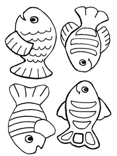 Bible Coloring Pages Fish | free creation coloring page fish just for kids