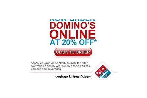 dominos discount coupons december 2018 india
