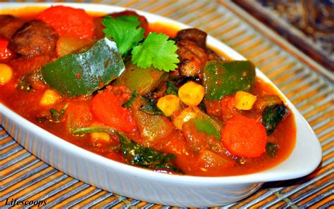 vegetables jalfrezi scoops vegetable jalfrezi stir fried vegetables in