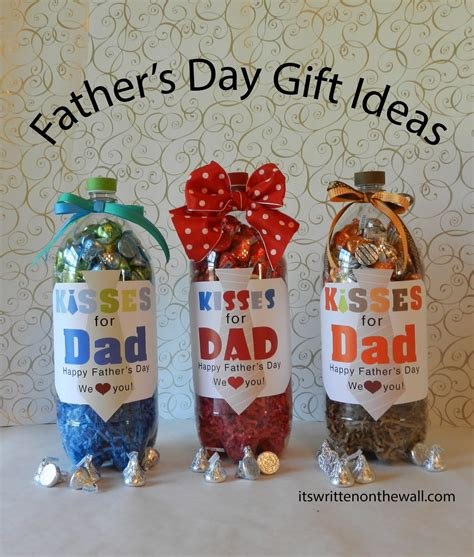 simple gift for s day it s written on the wall fathers day gift ideas for the