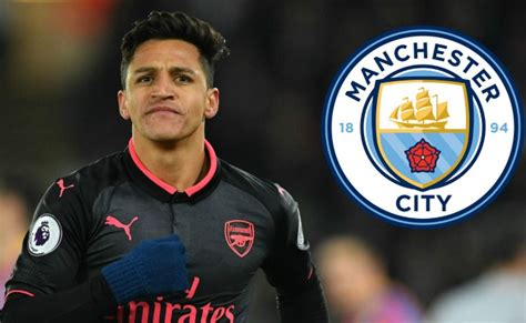 alexis sanchez man city arsenal transfer news alexis sanchez man city agreement