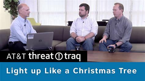 light up like a christmas tree at t threattraq bits