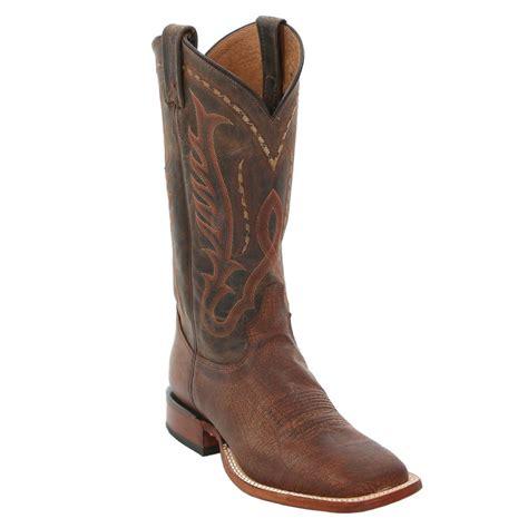 cognac boots mens tony lama s cognac buffalo cowboy boots d d