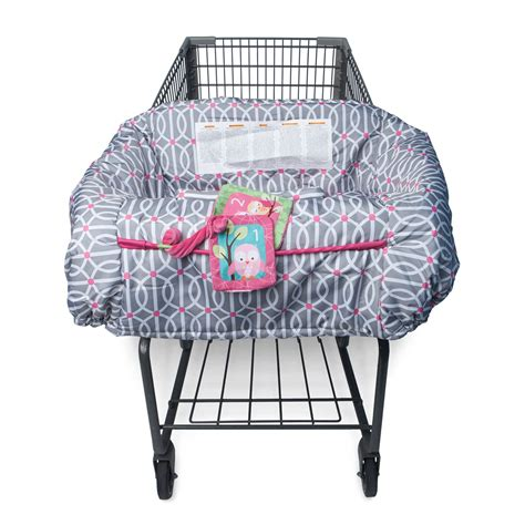 Shopping Cart Chair - boppy shopping cart and high chair cover park gate pink