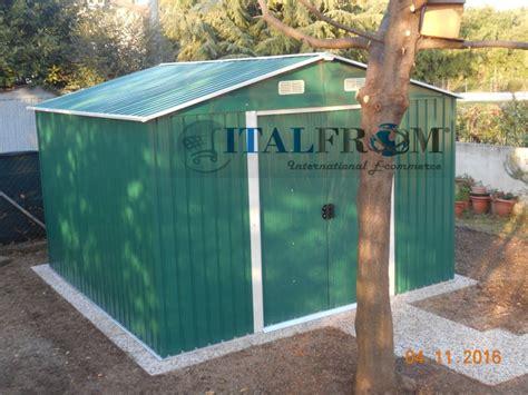 box giardino lamiera box casetta casette rimessa ripostiglio garage auto per