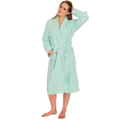 bathroom robes bathrobes terry cloth robes for women from 15 spa hotel quality terrycloth women s robe