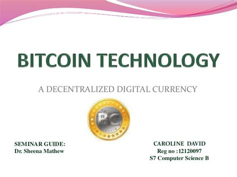 bitcoin technology tutorial bitcoin technology and its uses