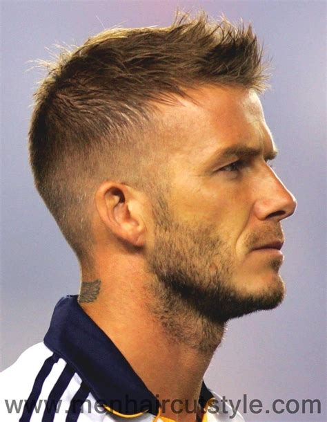 David Beckham Hairstyles by David Beckham Hairstyle Models Picture