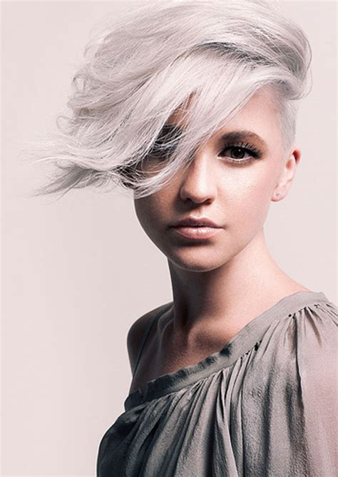 short silver blonde hair 25 best short haircuts for oval faces short hairstyles