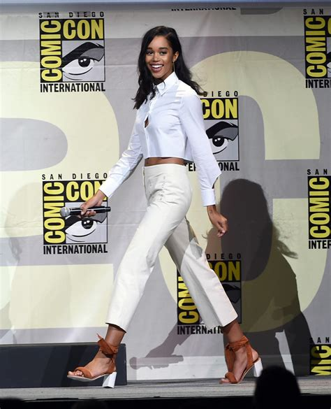 laura harrier snapchat laura harrier photos photos comic con international 2016