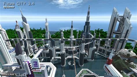 Future CITY 3.4 ? Minecraft Building Inc