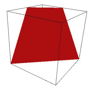 cross section cube cross sections of a cube chaitanya s random pages