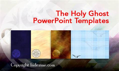 ghost themes for ppt the holy ghost christian powerpoint templates