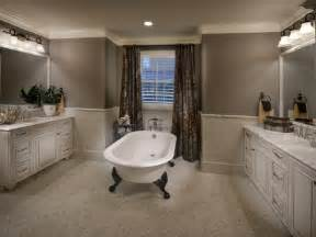 Clawfoot Tub Bathroom Design by Gray Traditional Bathroom With Claw Foot Tub Hgtv