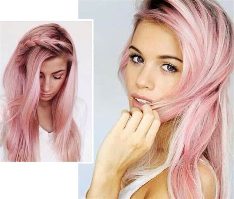 light pink temporary hair spray pink hair the trend the dye the temporary solution